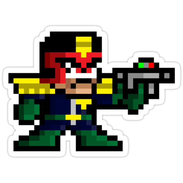8bit Dredd by TheRandomFactor