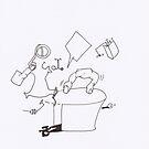 Petits Dessins Debiles - Small Weak Drawings#? - 2008/10/24 by Pascale Baud
