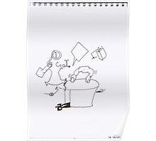 Petits Dessins Debiles - Small Weak Drawings#? - 2008/10/24 Poster