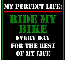 My Perfect Life: Ride My Bike by cmmei