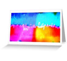 Political Radiation Greeting Card