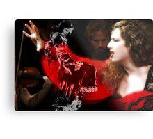 Cantaora & bailaora de Flamenco Metal Print