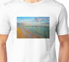 Playa del Carmen Beach, MEXICO Unisex T-Shirt