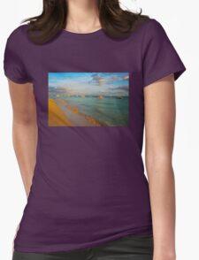 Playa del Carmen Beach, MEXICO Womens Fitted T-Shirt