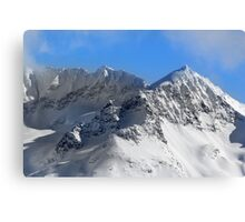 Avalanche Slopes Canvas Print
