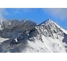 Avalanche Slopes Photographic Print