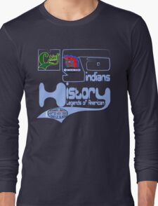 usa indian tshirt by rogers bros co Long Sleeve T-Shirt