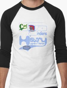 usa indian tshirt by rogers bros co Men's Baseball ¾ T-Shirt