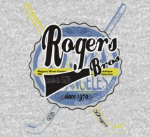 usa hockey tshirt by rogers bros co by usanewyork