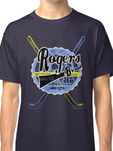 usa hockey tshirt by rogers bros co Classic T-Shirt