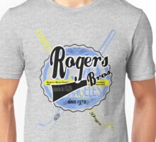 usa hockey tshirt by rogers bros co Unisex T-Shirt