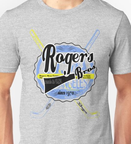 usa hockey tshirt by rogers bros co Unisex T-Shirt