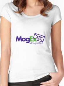 MogEx Delivery Service, Moogle Mail Branch - Final Fantasy Women's Fitted Scoop T-Shirt