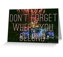 DFWYB - OTRA Baltimore Greeting Card