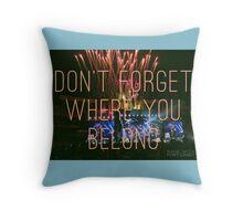 DFWYB - OTRA Baltimore Throw Pillow