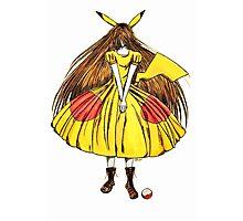 Lady Pikachu Photographic Print