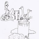 Petits Dessins Debiles - Small Weak Drawings#? - 2008/10/26 by Pascale Baud