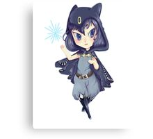 Chibi witch Canvas Print