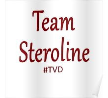 Team Steroline TVD Poster