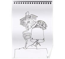 Petits Dessins Debiles - Small Weak Drawings#? - 2008/10/26 -02 Poster