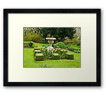The Garden - Constable Burton Framed Print