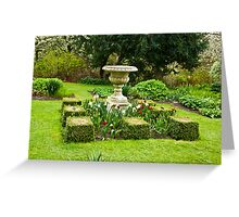 The Garden - Constable Burton Greeting Card