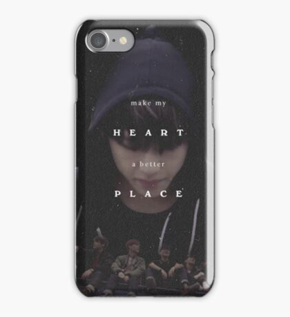 Make my Heart a better Place, V iPhone Case/Skin