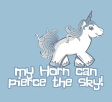 My Horn Can Pierce the Sky! Kids Clothes