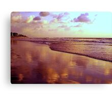 Clouds In The Sand Canvas Print