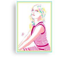 Gillian Jacobs  Canvas Print