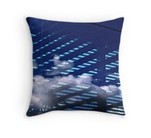I've looked at clouds from both sides now... Throw Pillow