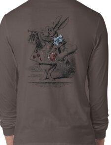 White Rabbit from Alice's Adventures in Wonderland Long Sleeve T-Shirt