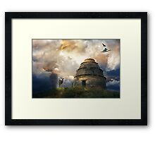 The Place of the Anchorite. Framed Print