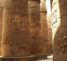 Karnak Temple - Egypt by Jamie Alexander
