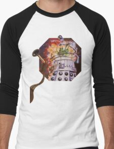 Dalek Destruction Men's Baseball ¾ T-Shirt