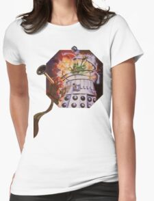 Dalek Destruction Womens Fitted T-Shirt