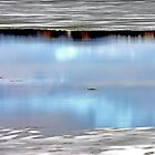 Cloud Reflections - Spring on the Ottawa River by Debbie Pinard