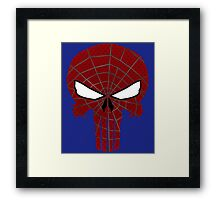 SPIDERPUNISHER Framed Print