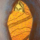 Islamic Woman by Debbie  Adams