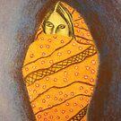 Islamic Woman by Mitch Adams