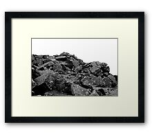 Dartmoor Rocks Framed Print