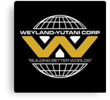 The Weyland-Yutani Corporation Globe - Clean Canvas Print