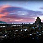Day Break On Black Rock (Widemouth Bay) by OzzieBennett
