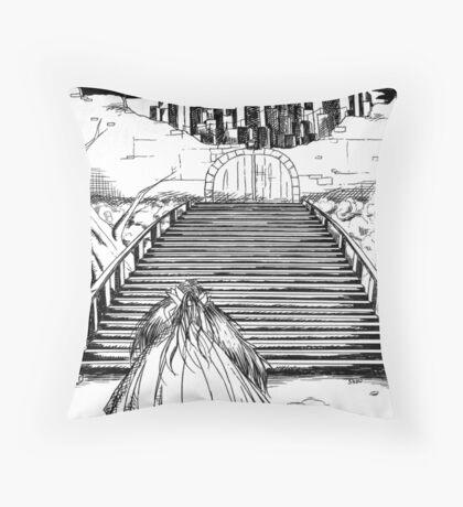 La Grande Entrée (The Entry) Throw Pillow