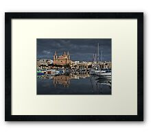 Msida Parish Malta Framed Print