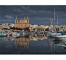 Msida Parish Malta Photographic Print
