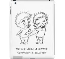 naptime companion iPad Case/Skin