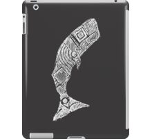 The Great White Whale Sketch iPad Case/Skin