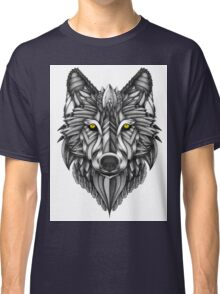 Ornate Wolf Classic T-Shirt