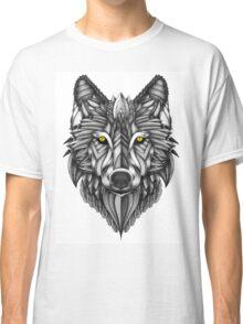 Ornate Wolf Classic T-Shirt